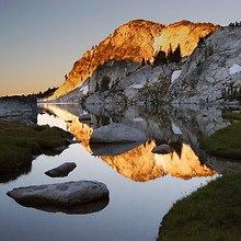 Rocky Mirror Lake