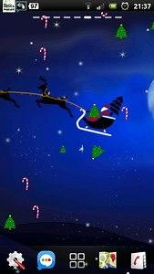 Santa Winter Christmas Eve LWP