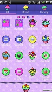 Cupcake GO Launcher EX Theme