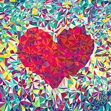 Polygon Love Heart