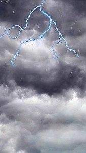 Lightning Storm and Rain LWP