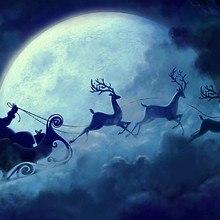 Santas Sleigh Art