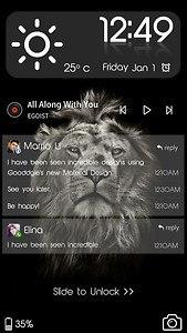 Lion King CM Locker Theme