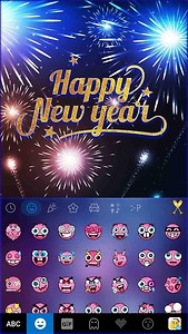 Happy New Year Kika Keyboard
