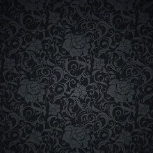 Dark Flower Pattern