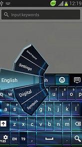 Keyboard for Sony Xperia U