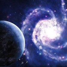 Spiral Galaxy Art