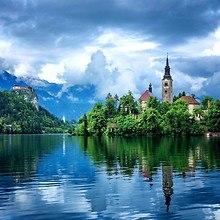 Bled Island The Church Of The Assumption