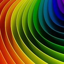 Colorful 3D Curve