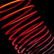 Abstract Slinky