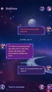 Romance GO SMS