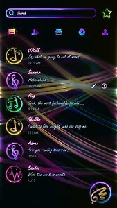 (FREE) GO SMS LIGHT RAY THEME