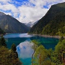 Long Lake Jiuzhaigou China