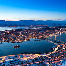 Tromso Norway In Winter