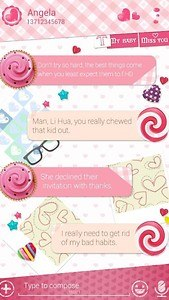 (FREE) GO SMS LOVE YOU THEME