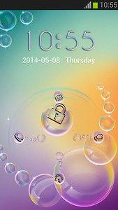 GO Locker Bubble Theme