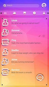 (FREE) GO SMS COLORFUL THEME