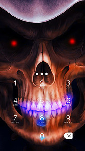 Skull AppLock Theme