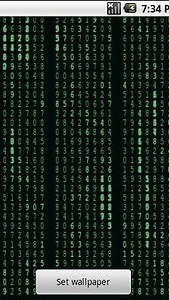 Matrix Stream Wallpaper Free