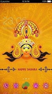Dussehra C Launcher Theme
