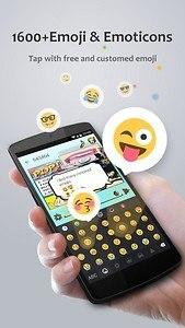 GO Keyboard Pro - Emoji, GIFs