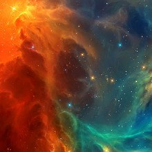 Cosmos Clouds Of Dust