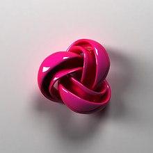 Pink 3D Knot