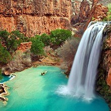 Arizona Waterfall