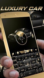 Luxury Car GO Keyboard Theme