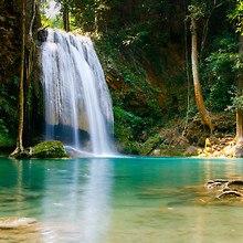 Beautiful Lagoon Waterfall
