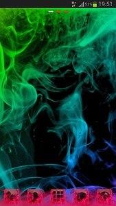 GO Launcher Theme Smoke Colors
