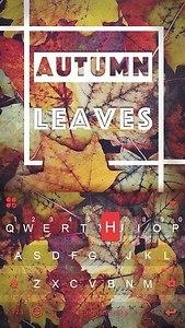Autumn Leaves Kika Keyboard