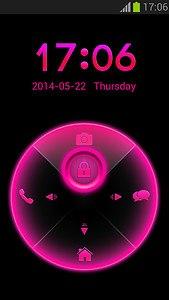 Pink Neon Locker Free