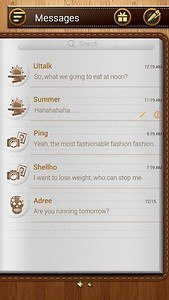 (FREE) GO SMS NOTEPAD THEME
