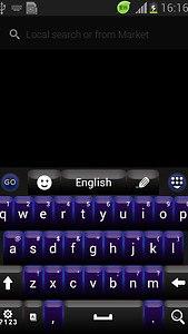 GO Keyboard Black Theme