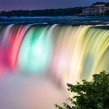 Colorful Niagara Falls