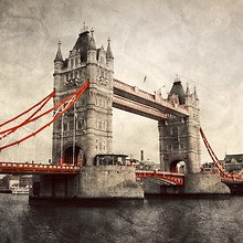 Vintage Tower Bridge