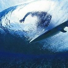 Surfer Underwater