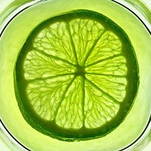 Lime Sliced