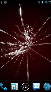Cracked Screen Live Wallpaper