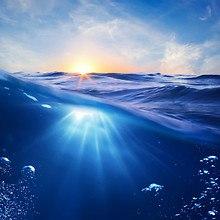 Ocean Water Bubbles