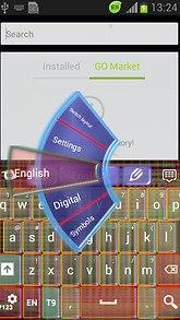 Neon Chromatic Keyboard