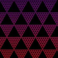 Triangle Pattern Purple