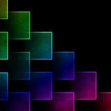 Colorful Abstract Blocks