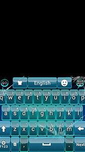 Glass GO Keyboard Theme