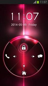 GO Locker Black And Pink Theme