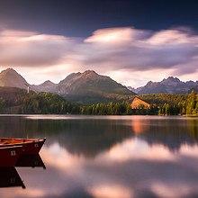 Strbske Pleso Lake