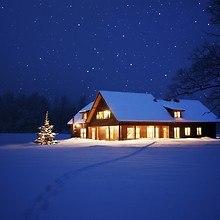 Beautiful Winter House
