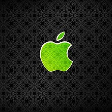 Fancy Apple Logo