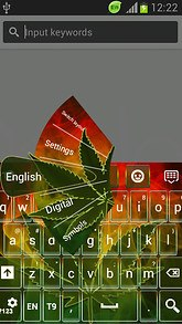 Theme Keyboard Rasta